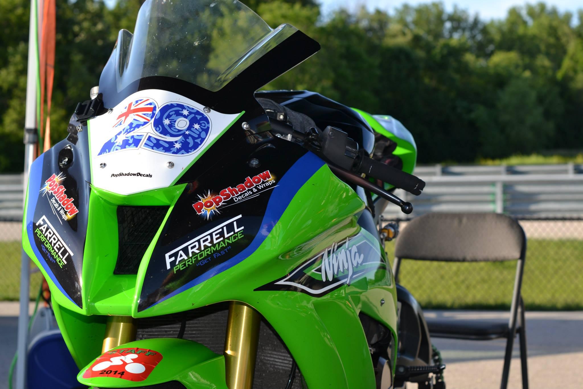 PopShadow Decals - Custom motorcycle stickers racing