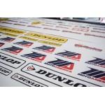 Moto America Vinyl Patches