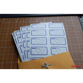 WERA Grid Position Decals