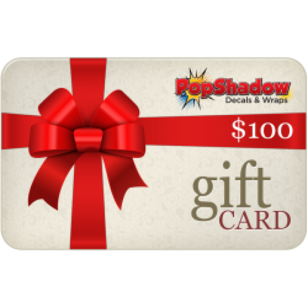 PopShadow $100 Gift Card